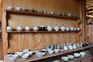 制作している陶器